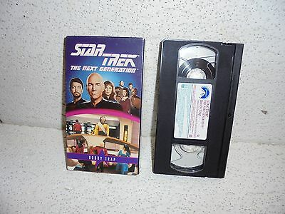 Star Trek The Next Generation : Booby Trap Episode 54 VHS Video Out Of (Star Trek The Next Generation Booby Trap)