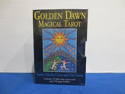 Golden Dawn Magical Tarot Deck     ref 31
