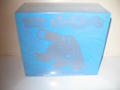 Pokemon TCG XY Evolutions Blastoise Elite Trainer Box New Sealed -5th Series