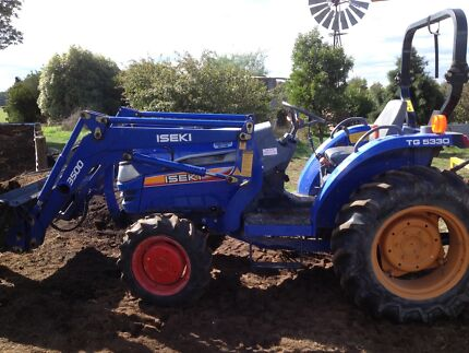 Tractor 33HP 4WD Iseki Tooborac Mitchell Area Preview