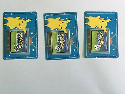 Rare Set Of Pokemon E Reader Cards Nintendo