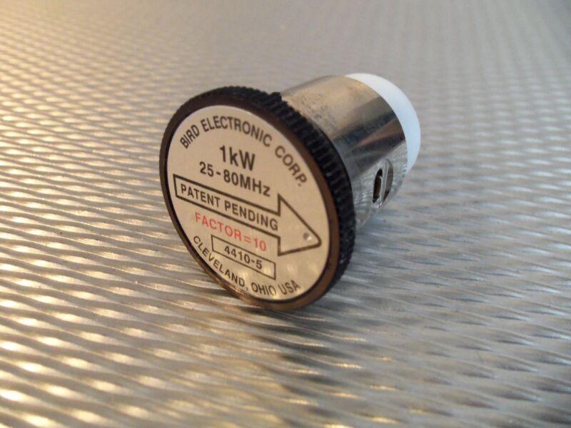 Bird 4410A Thruline WattMeter Element 1,000W 4410-5 25-80MHz