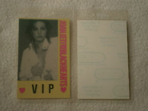 Joan-Jett-The-Blackhearts-VIP-Laminated-Backstage-Tour-Pass