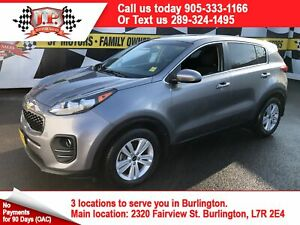 2017 Kia Sportage LX, Auto, Back Up Camera, Heated Seats,