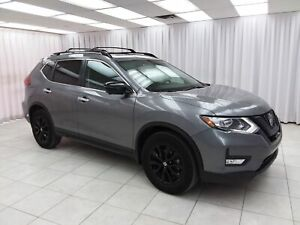 2018 Nissan Rogue 2.5SV MIDNIGHT EDITION AWD SUV w/ BLUETOOTH, H