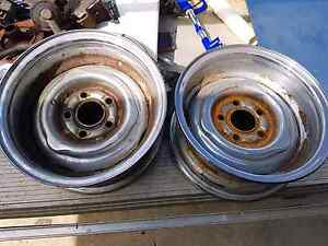 Early holden wheels ROH Chromies 5x108 Narangba Caboolture Area Preview