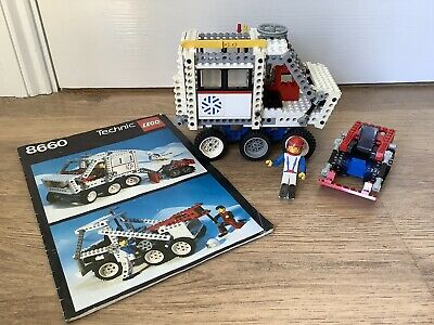 Lego Technic 8660 Arctic Polar Rescue Unit With One Figure