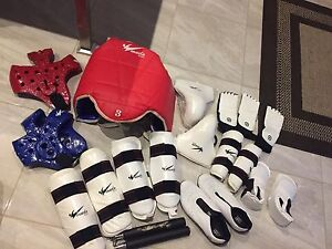 2 Sets of Large Mudo Sparring Gear
