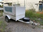 Trailers 2000 7 x 4ft Enclosed Tradesman Tool Box 750ATM Trailer Wacol Brisbane South West Preview