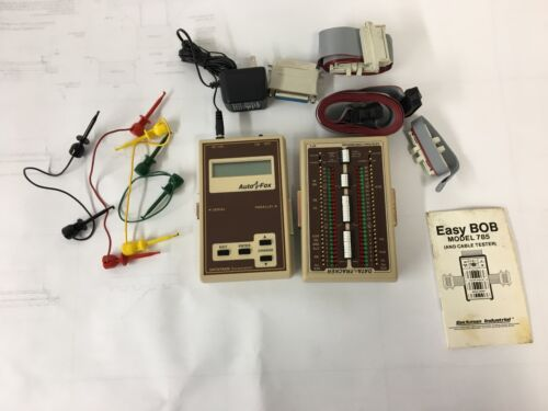 DataTran AutoFox  and Tracker DT-5 Signal Tester  with accessories
