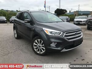 2017 Ford Escape Titanium | 1 OWNER | NAV | LEATHER | PANO ROOF
