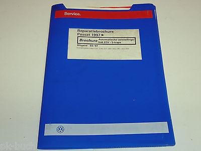 Reparatiebrochure VW Passat B 5 Automatische versnellingsbak 01V - 5-traps ab 97