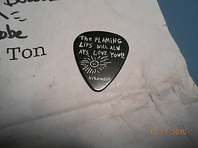 The Flaming Lips Guitar Pick & Setlist From GOTR Salida 2015
