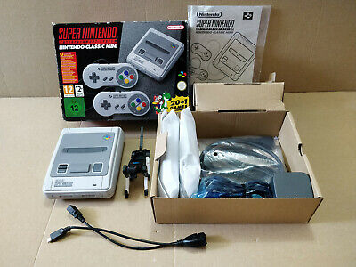 Official Boxed Super Nintendo SNES Classic Mini & EXTRAS!