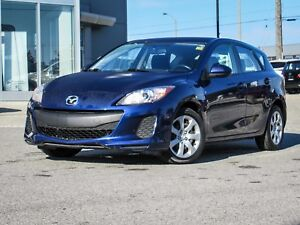 VERY LOW KM CLEAN 2013 MAZDA3 GX SPORT AUTOMATIC A/C