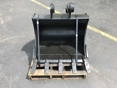 New 30 Hyundai R60w-9 Heavy Duty Excavator Bucket W Coupler Pins