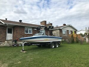 1991 supra impulse ski boat