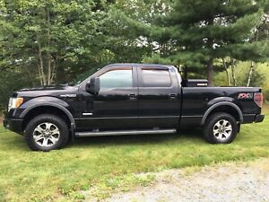 F150 FX4 Supercrew with 6 1/2 Foot Box and Leveled
