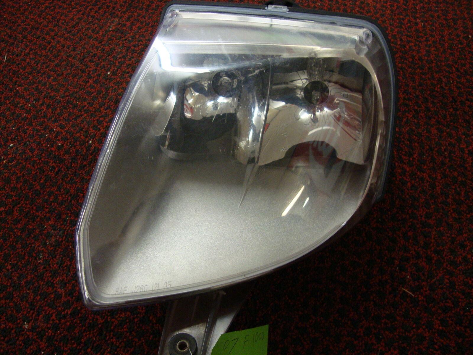 2007 Arctic Cat F1000 EFI FRONT LEFT HEADLIGHT HEAD LIGHT LAMP 0609-781