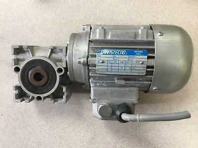 Transtecno 480 V Motor Type T56b W Siti Monteveglio A1 30 Gear Box 151