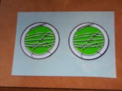Vintage GI Joe HIDDEN MISSILE DISCOVERY DECAL SET x2 1976 Adventure Team