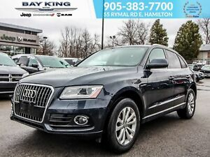 2016 Audi Q5 LEATHER, HEATED SEATS, SUNROOF, PUSH START, TURBO
