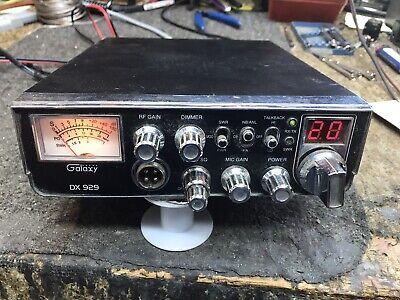 "Galaxy Dx 929 Cb Radio Peaked/tuned W/ ""bad Boys"" Noise Toy"