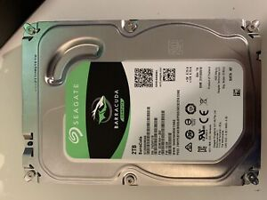 Used 2TB Seagate barracuda 3.5in internal drive