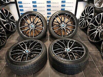 BMW 3 / 4 SERIES 19''inch ALLOY WHEELS 5X120 C SPOKE M SPORT WITH NEW TYRES X4