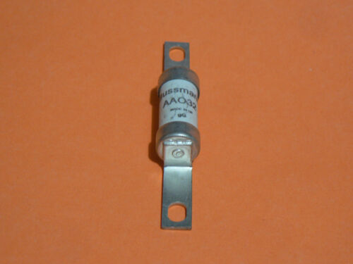 COOPER BUSSMANN AA032 32A 550VAC 13.8X85mm INDUSTRIAL HRC FUSE OFFSET BOLTED TAG