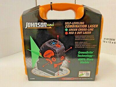 Johnson Level Tool Self-leveling Combination Red Dotgreen Cross Laser 40-6688