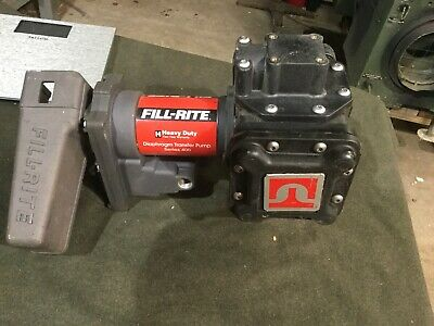 Fill-rite 400 Dual Diaphraghm Fuel Transfer Diesel Pump 24 Volt Military Truck