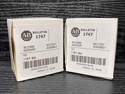 New Allen Bradley 1747-ba Ser A Slc 500 Battery Assembly 503 504 505 Cpu Oem