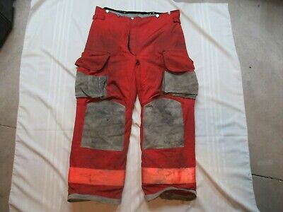 Lion Janesville 40l Firefighter Turnout Bunker Gear Pants Rescue Tow