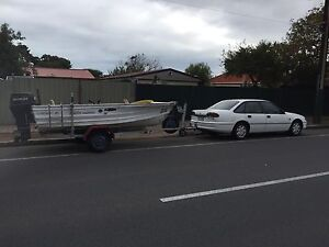 QUINTREX Boat/car package Daw Park Mitcham Area Preview