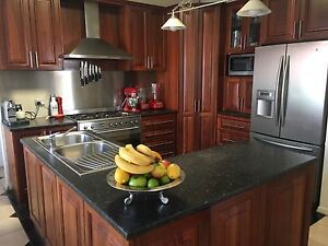 Solid Jarrah Kitchen Greenwith Tea Tree Gully Area Preview