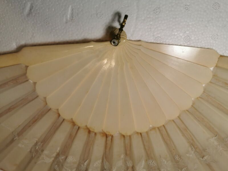 ANTIQUE CHINESE EXPORT FAN