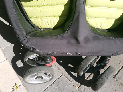 Agile Twin double pram