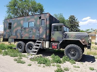 M939 Offroad Camper 1991 BMY M939a2 5-ton 6x6 20 foot living area