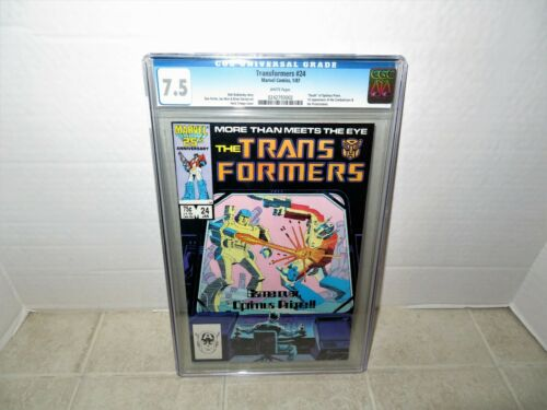 TRANSFORMER #24 CGC 9.4 WHITE PAGES