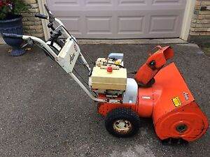 Ariens 8 hp Snowblower Can Deliver