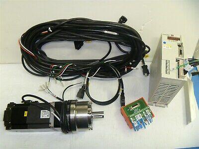 Mitsubishi Servo Motor Hf-ke73bw1-s100controller Mr-e-70a-kh003harmonic Drive
