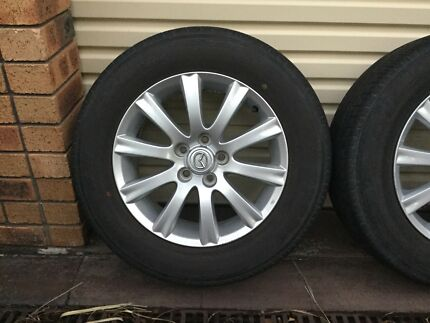 4 x Mazda CX-7 wheels 17x7 inch 5 x 114.3 +45 sell or swap.