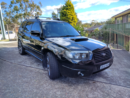 06 MY07 SUBARU FORESTER XT LUXURY MANUAL Woronora Heights Sutherland Area Preview