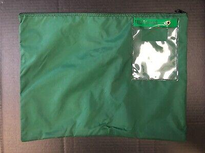 First Class Round-Trip Mail / Courier Nylon Zipper Bag w/ Window (14