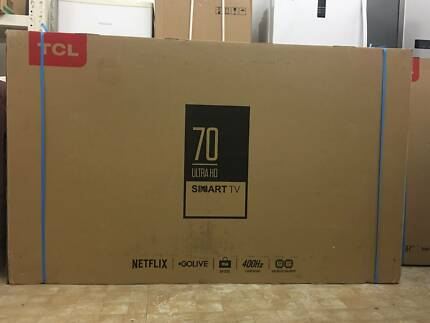 TCL 70 4K UHD Android TV netflix youtube smart led tv limited