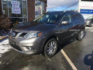 2014 Nissan Rogue SL AWD w/ 360 Camera, Leather, NAV, Pano Roof