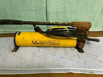 Used Enerpac Hydraulic Power Hand Pump P-80