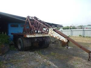 Fowler crane truck - also - Other Items - Retirement sale Wynyard Waratah Area Preview