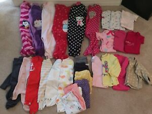 Baby girls clothing lot 6 months